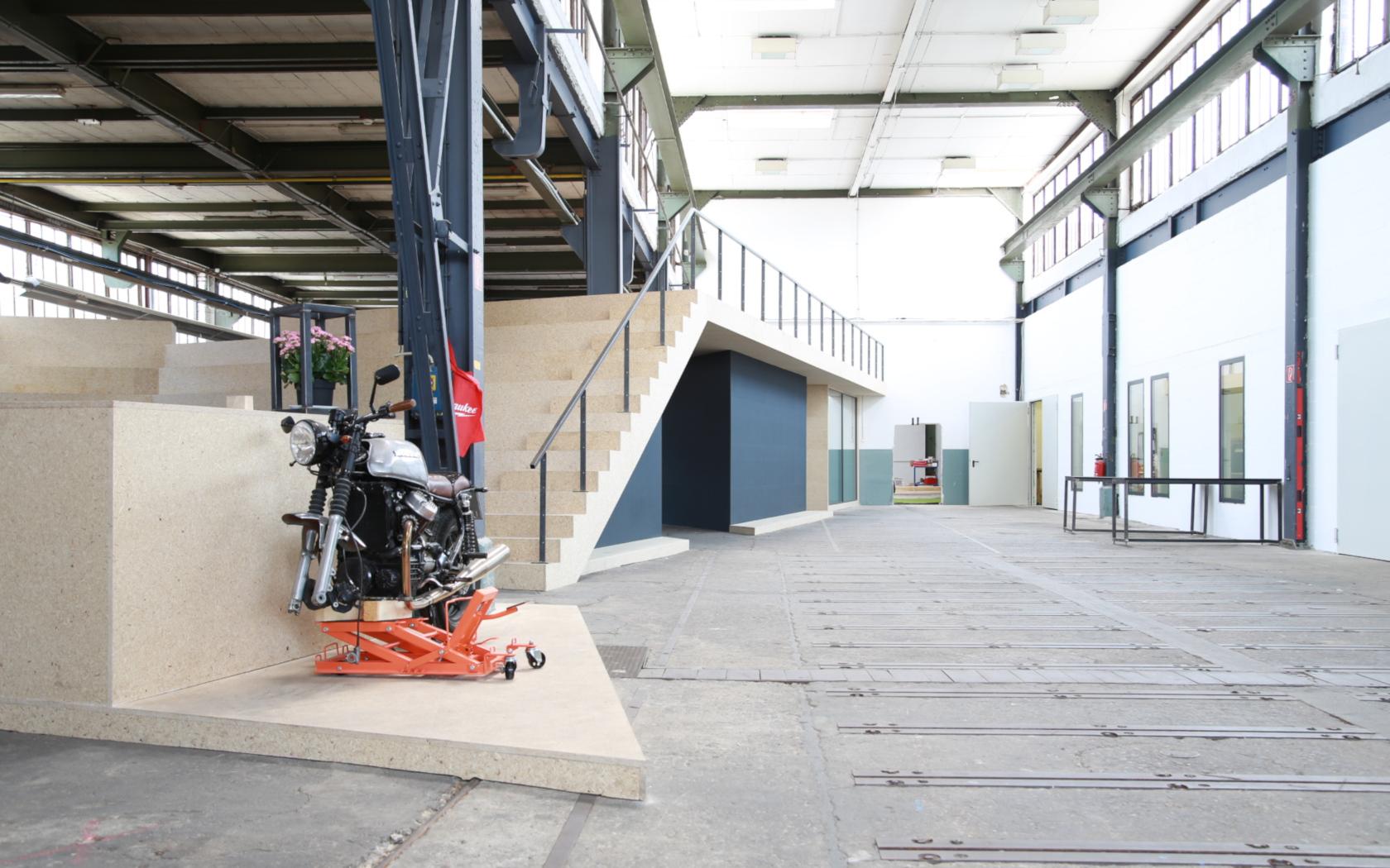 Planung und Realisierung, Makerspace Tatcraft GmbH, Architektur im Raum, 2017