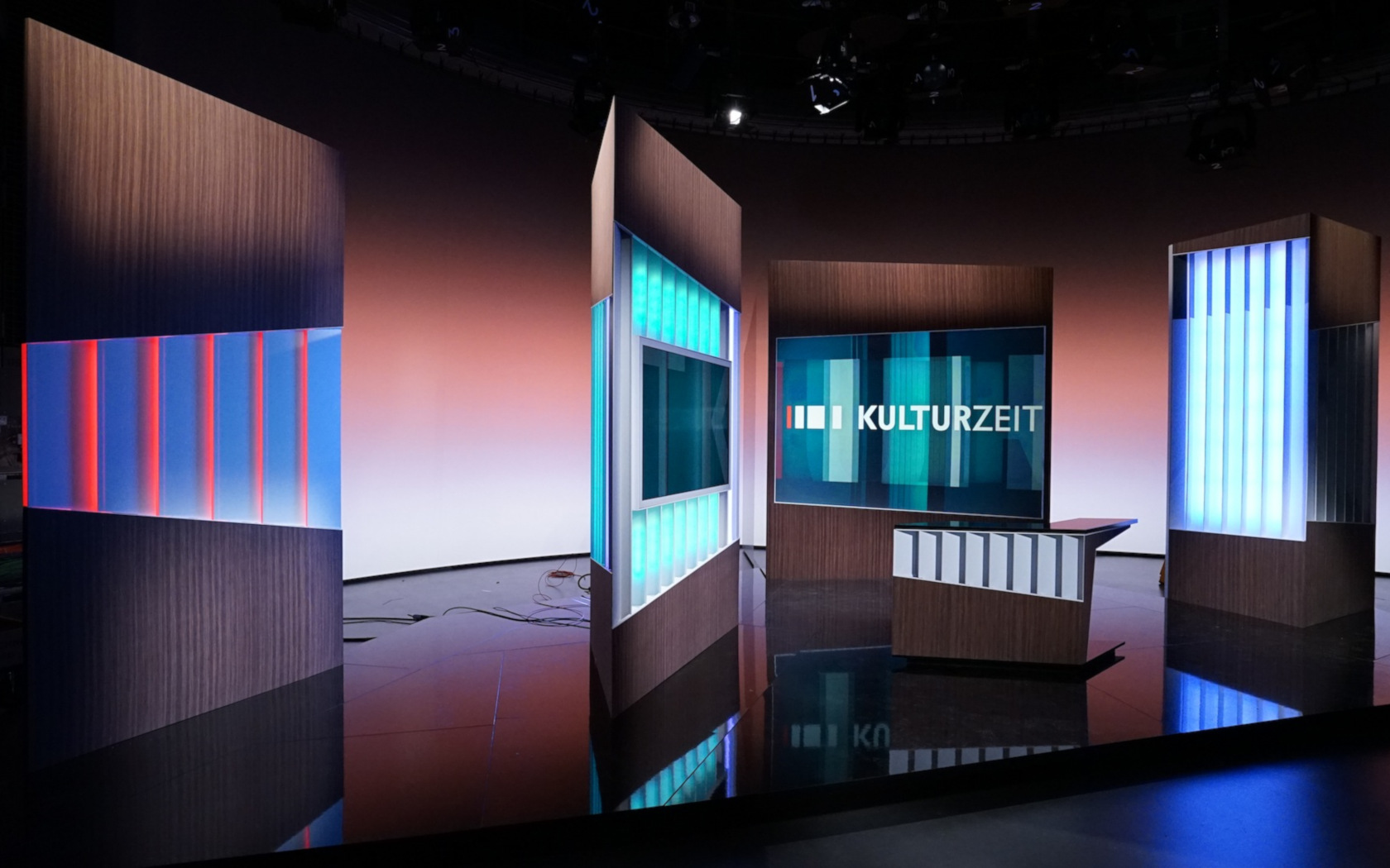 3sat Studios, Kulturzeit, Scobel, Nano, Boris Banozic, TV Studios, Illusion, Wissenschaft und Kultur nachrichten