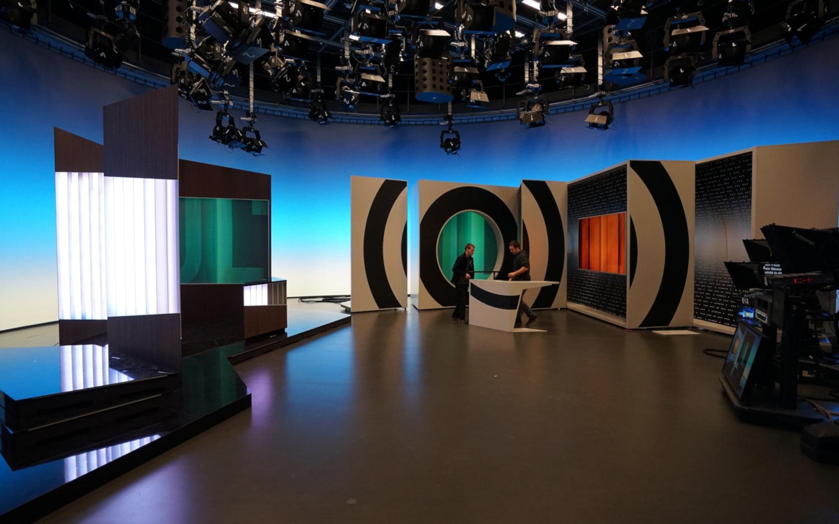 Konzept, Design, Studiodesign, TV Studios