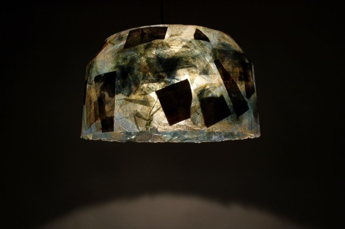 indi.lamp, rotationsverfahren mal anders, individuelle lampe, Produktentwicklung, proof of principle, lampenschirm
