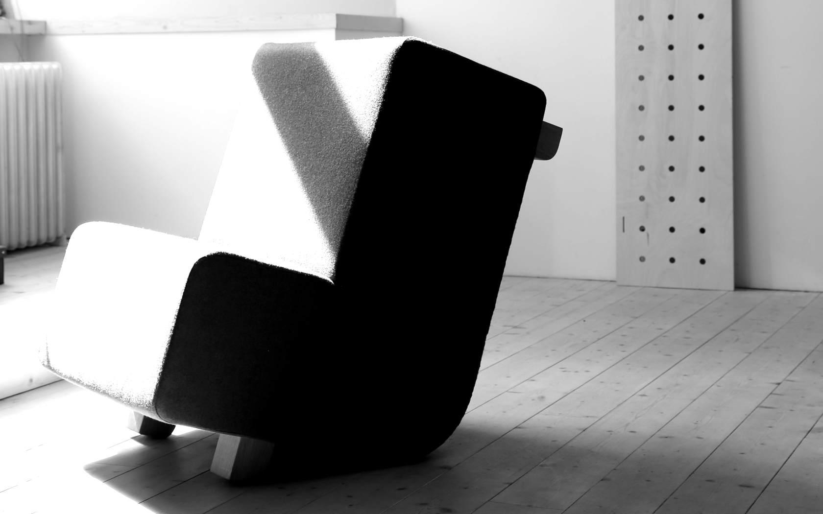 Otoman chair for private or public spaces