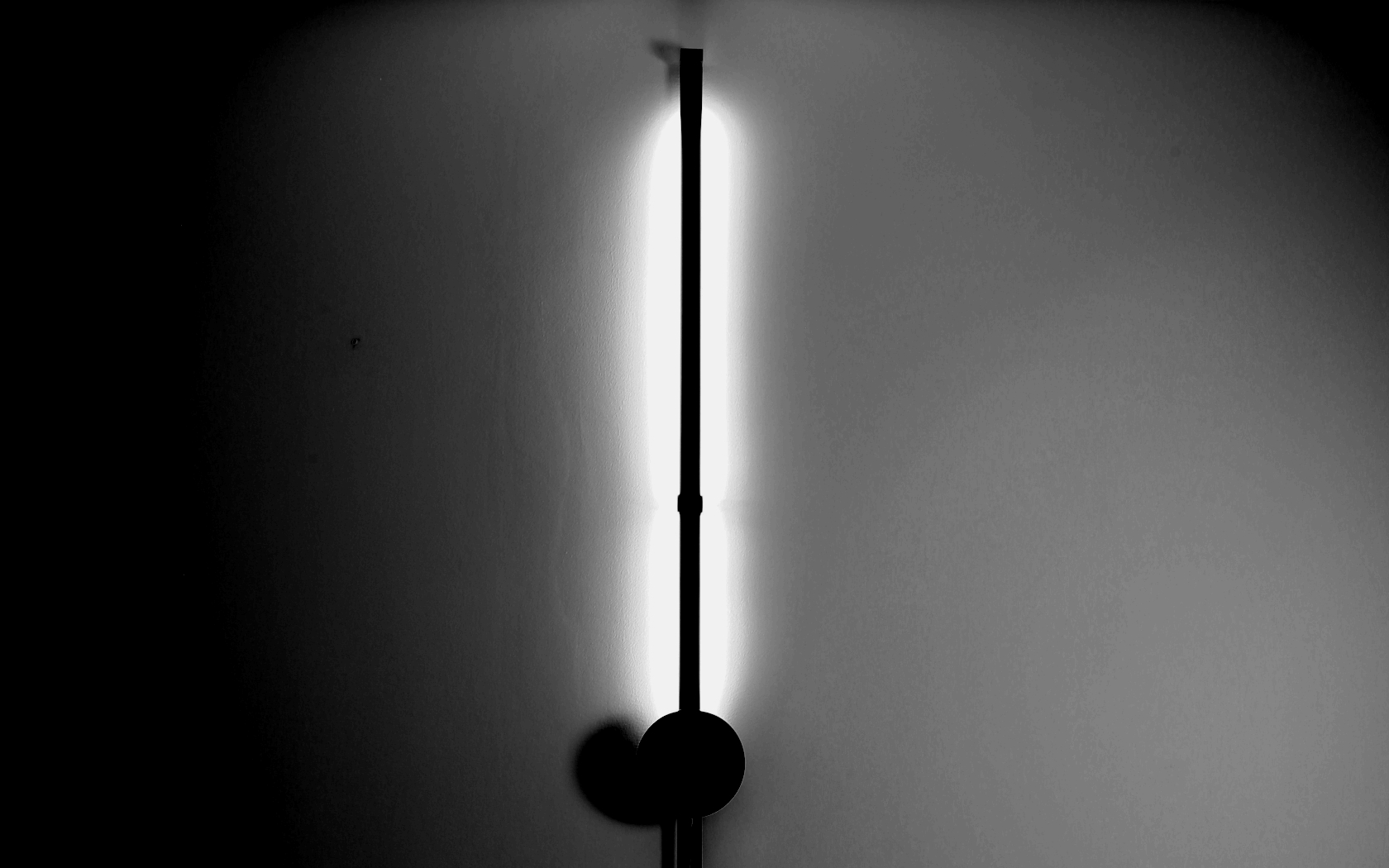 wall lamp for interior spaces