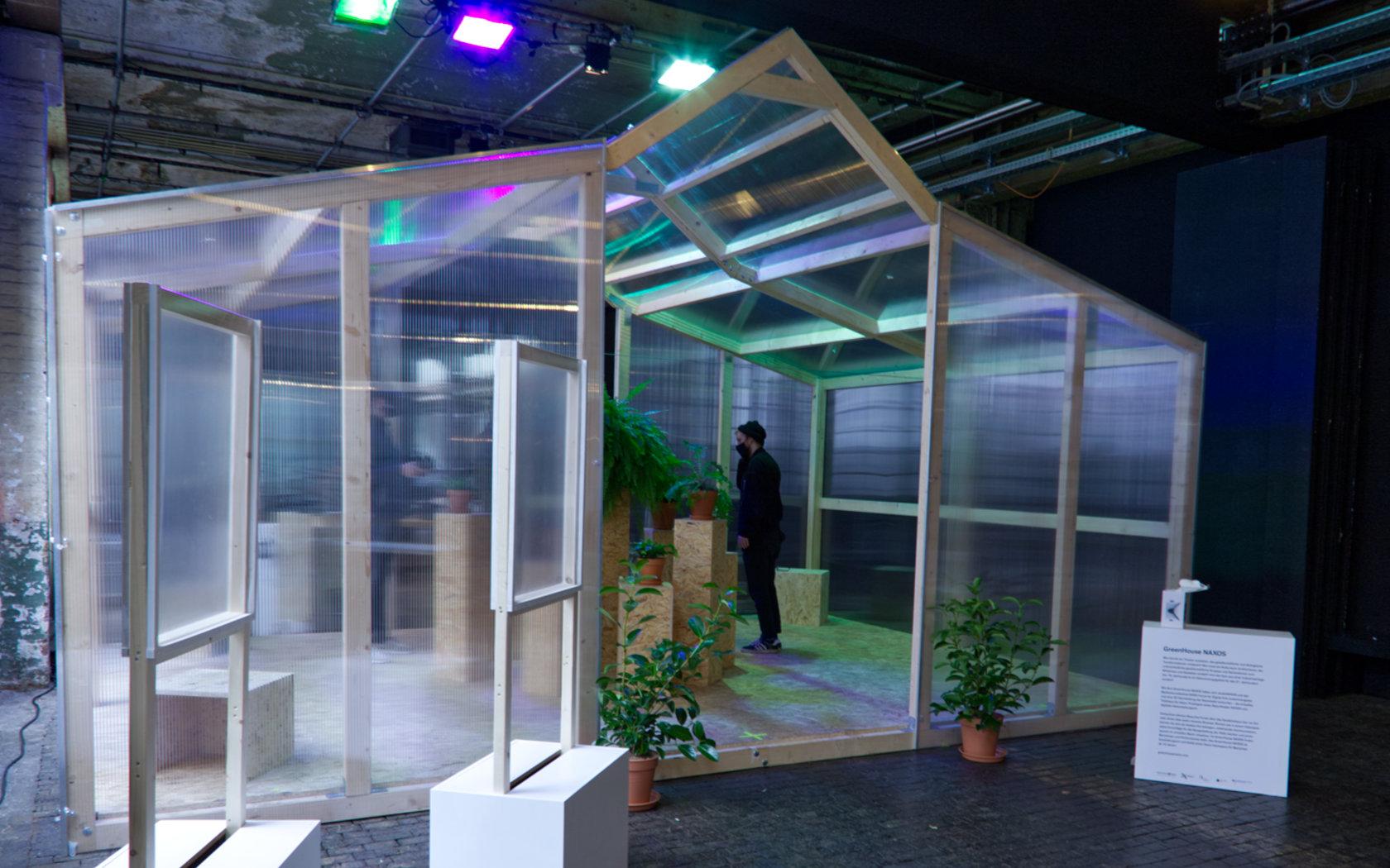 architektur eines greenhouses