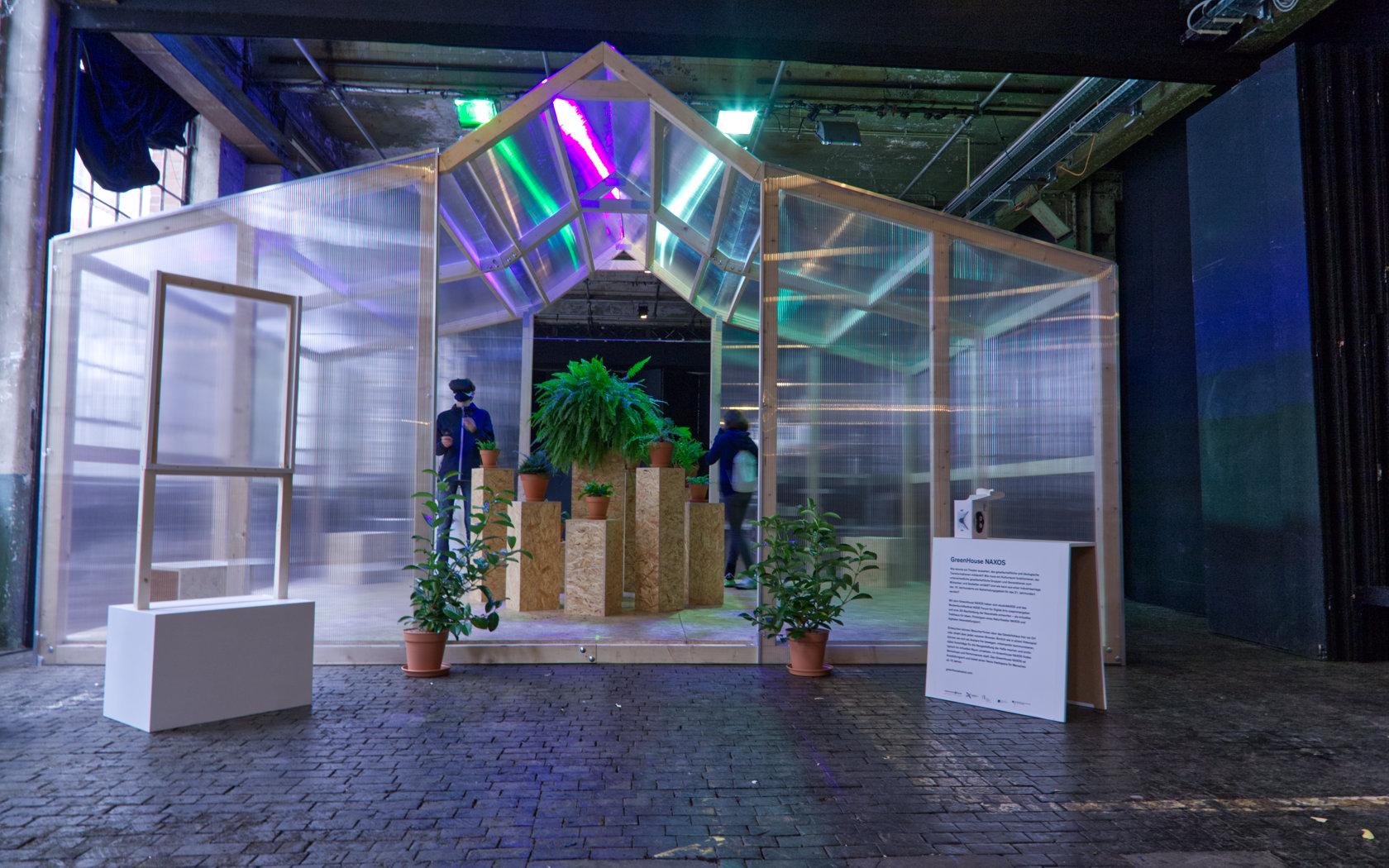 greenhouse projekt für die Naxoshalle in Frankfurt am Main